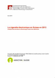 la cigarette électronique en Suisse en 2013