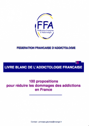 LIVRE BLANC DE L'ADDICTOLOGIE FRANCAISE